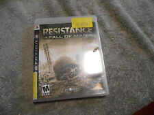 Playstation 3 PS3 Resistance Fall of Man Shooter FPS - COMPLETE