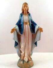 """Fontanini Depose Blessed Mother Figure Italy 6 1/2"""" Tall"""