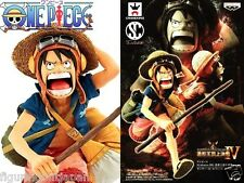 One Piece Monkey Luffy Banpresto figure SCultures Colosseum Zoukei Strong World