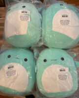 "New Squishmallow 16"" Plush Axolotl Teal Green Anastasia Doll Toy Ships Now"