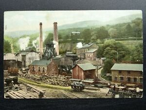 Wales CWMPENNAR COLLIERY - MOUNTAIN ASH c1905 Postcard by The Wrench