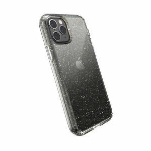 Speck Presidio Clear + Glitter Case - iPhone 11 Pro/XS/X Clear Gold