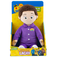 LITTLE WIGGLES LULLABY LACHY 30CM TALKING PURPLE WIGGLES IN PYJAMAS