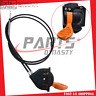 Throttle Choke Lever Cable Fit John Deere AM140333 X300 X350 X500 X534 X380 US