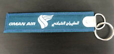 Oman Air - Remove Before Flight Keychain
