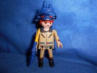 Playmobil Ghostbusters Stantz blaues Nachtsichtgerät Figur unbespielt top