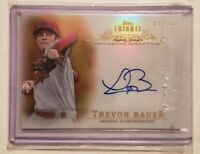2013 Topps Tribute Autograph Trevor Bauer 09/15 Arizona Diamondbacks