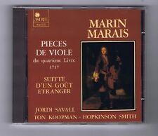 MARIN MARAIS CD PIECES DE VIOLE 4EME LIVRE/ JORDI SAVALL/ TON KOOPMAN/ H.SMITH
