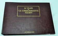 50 Years of U.S. Commemorative Stamps. Nice Album for Collectors & Gift (BI#BDR)