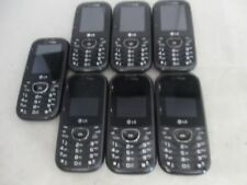 LOT OF 7 FAIR VERIZON LG COSMOS 2 VN251 QWERTY SLIDER KEYPAD CLEAN IMEI/ESN