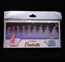 Le Cinderella Transformation Rag to Rich Animation Celebration Event Disney Pin