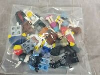 Lot 10 Lego Mini Figures All Body Parts Included Lot 8
