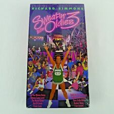 Richard Simmons Sweatin' To The Oldies 3 VHS New Sealed 10 Songs