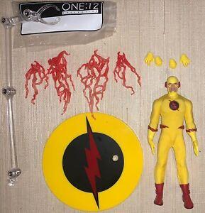 DC Comics Mezco One 12 1:12 Collective Reverse Flash Authentic Figure Complete