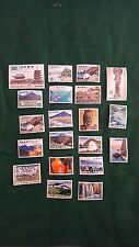 JAPAN- ARTS & LANDSCAPE STAMPS COLLECTION