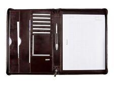 30054 Alassio Monaco Schreibmappe A4 - Leder braun