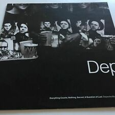 Depeche Mode Everything Counts, Nothing, Sacred, A Question Of Lust 1989 Vinyl [