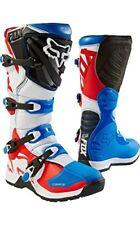 Fox Comp 5 Boot Bleu/rouge Taille US M12 EUR 46 MX Bottes Homme