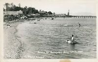WASHINGTON WA – Boundary Bay Beach Real Photo Postcard rppc
