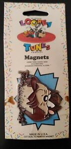1993 Looney Tunes Magnet, TAZMANIAN DEVIL New in Package) Warner Brothers 1990's