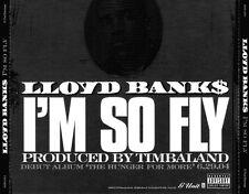 Lloyd Banks: I'm So Fly PROMO MUSIC AUDIO CD Clean Album Instrumental 3 tracks