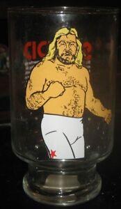 1985 WWF Big John Studd Jumbo Glass - WWE