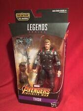 """Marvel Legends 6"""" AVENGERS THOR w/ STORMBREAKER FIGURE BAF Cull Obsidian *NEW*"""