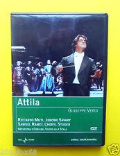 dvd,teatro,opera,giuseppe verdi,attila,riccardo muti,theater,opere liriche,lyric