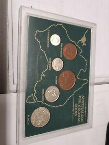 Australian pre decimal coins