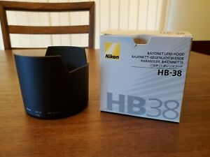Nikon HB-38 Lens Hood Shade for Nikon AF-S VR Micro 105mm f/2.8G IF-ED Open Box