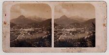 Berchtesgaden Untersberg Bayerisches Hochland Stereofoto Foto 1906