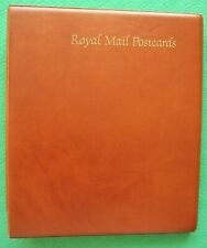 Royal Mail Postcard Album With 14 Sets PHQ Postcards Mint 57 cards.1986 to 1989