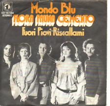 """""""7"""" - FLORA FAUNA CEMENTO - Mondo Blu - sehr RAR !!!"""