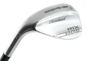 NEW LH Cleveland RTX Zipcore 46* Mid 10* Steel Dynamic Gold Spinner Wedge Flex