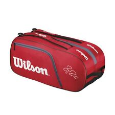Wilson Roger Federer Team 12er Bag Rot Tennistasche UVP 79,95€ NEU