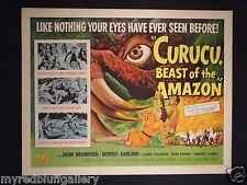 Curucu Beast of the Amazon Universal Pictures 1956 Half Sheet #2