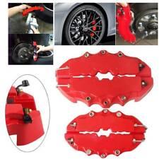 4pcs 3d Red Style Car Universal Disc Brake Caliper Covers Front Amp Rear Kits Fits Jaguar