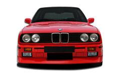 1984-1991 BMW 3 Series E30 2DR 4DR Duraflex Evo Look Front Bumper-1PC Body Kit