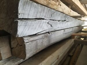 """Antique Rustic Reclaimed Architectural Wood Beam 8"""" x 8"""" x 16ft"""