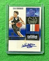 ISAIA CORDINIER AUTO ROOKIE INTERNATIONAL CARD 2016 PANINI CONTENDERS DRAFT PICK