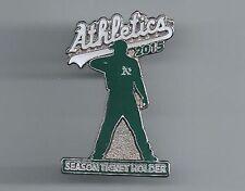 Oakland Athletics 2015 SEASON TICKET HOLDER Pin A's Sean Doolittle ** NEW **