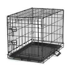 "Dog Training Crate For Dogs Foldable Wire Security Cage Large 42""L x 28""W x 31""H"