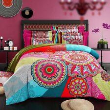 Cooperation Home Textile, Cotton Sanded Fabric, Boho Style Bedding Set,Boho Duve