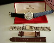 MONTRE WATCH OMEGA DE VILLE 930 CHRONOGRAPH 146.017 1969 PL OR  VINTAGE