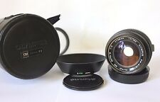 Olympus OM 28mm f2  Wide Angle  Prime Lens Caps , Case, Hood See Description