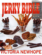 Jerky Bible Cookbook - 103 Recipes Beef Chicken Meat Fish Lamb - eBook on CD USA