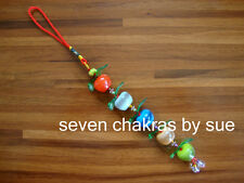 Feng Shui - 5pcs Assorted Cat's Eye Apple Tassel (Peace & Abundance)