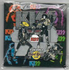 KISS Hard Rock Cafe Pin Badge Fukuoka 06 Lt 300 Stage