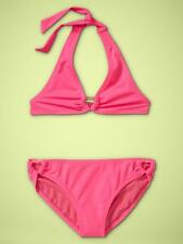 Gap Kids Heart Halter Two-Piece Swimwear Pink Light Size XXL(plus) New With Tags