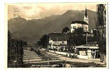 alte Postkarte Keprun mit kitzsteinborn